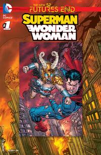 Superman-Wonder Woman Futures End 01