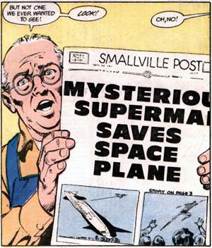 Superman-spaceplane
