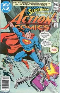 Action Comics Issue 504