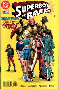Superboy and the Ravers 7