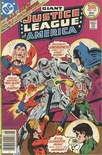 Justice League of America Vol 1 142