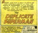 Superman's deaths