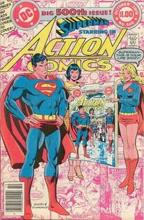 Action Comics Issue 500