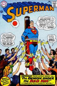 SupermanDeath-Superman184February1966