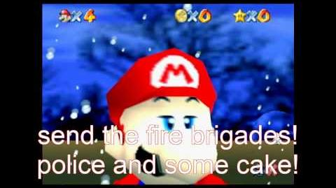 Super mario 64 bloopers italian kidnapping