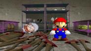 Mario and Crazy Woman