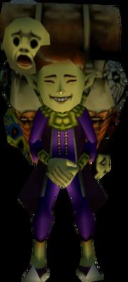 Happy Mask Salesman (Majora's Mask)