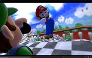 Mario jump Luigi