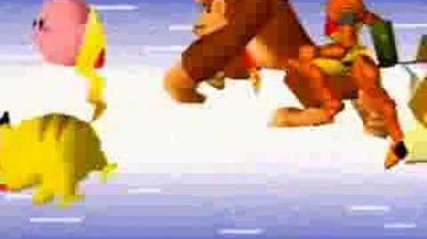 Super Smash Bros N64 Opening
