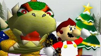 SM64 christmas 2014 The bowser that stole christmas