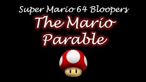 Super mario 64 bloopers The Mario Parable