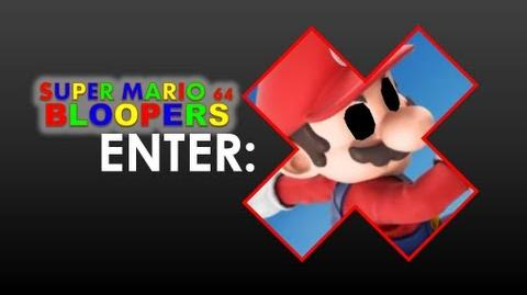 Super Mario 64 Blooper: Enter X