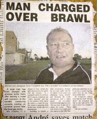 Brandy's dad in brawl