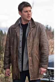Dean's leather jacket in Swan Song