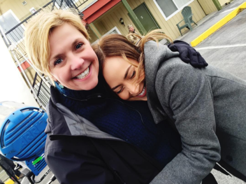 File:Amanda Tapping with Courtney Ford.png