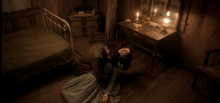 Cain, crying over Colette's corpse 1