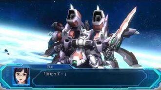 Super Robot Taisen Original Generation Moon Dwellers - Liege Geios attack compilation