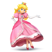 Peach Super Smash Bros for Wii U and 3DS