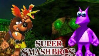 -Let's Play- Super Smash Bros Brawl - Banjo Kazooie Final Battle