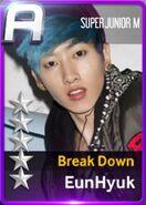 Eunhyuk Break Down