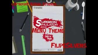 Surgeon Simulator 2013 Menu Theme