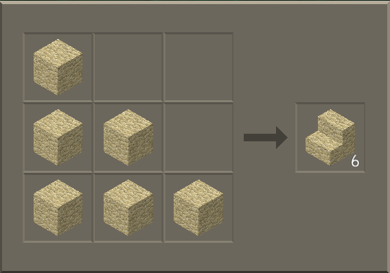 File:Sandstone Stairs craft.png