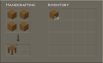 Personal Crafting UI