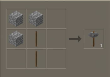 Stone Axe craft