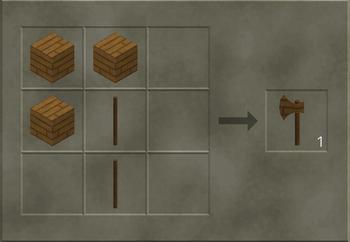 Wooden Axe craft