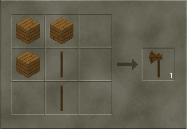 File:Wooden Axe craft.png