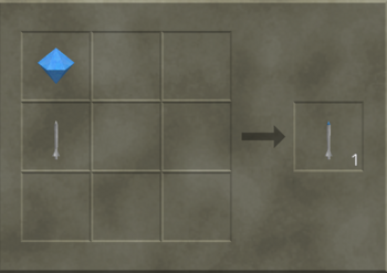 Diamond Tip Iron Bolt craft