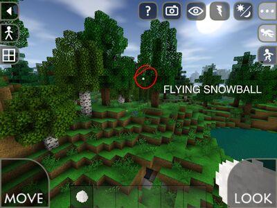 Flying Snowball