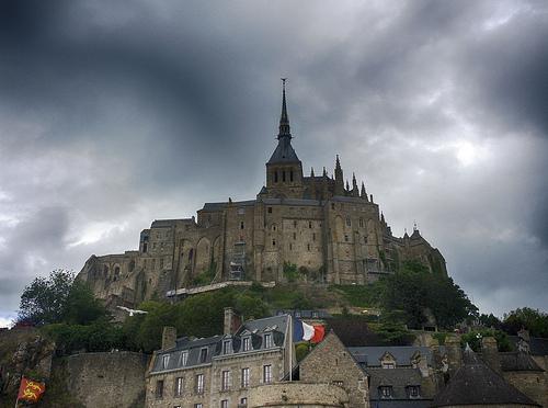 File:Stormy Sky Above Mont Saint-Michel.jpg