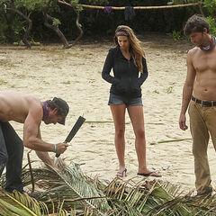 LJ, Morgan and Jeremiah working at the Solana beach