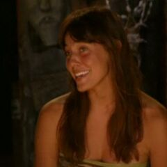 Amanda at Final Tribal Council.