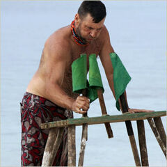 <i>Sarge</i> wins the first Individual Immunity.