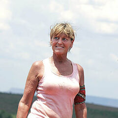 Sandy Burgin as a member of <a href=
