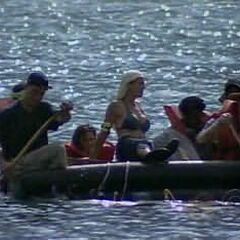 Maraamu arrives at their beach.