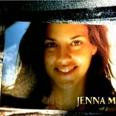 Jenna's first photo in the opening.