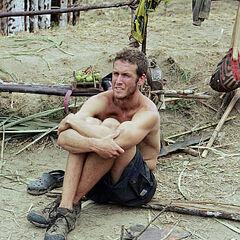 Marcus at the Kota camp.