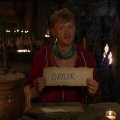 Josh's last vote.