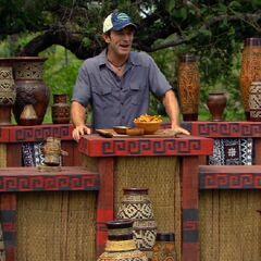 Jeff selling food