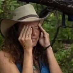 Jerri is upset with herself for losing the challenge