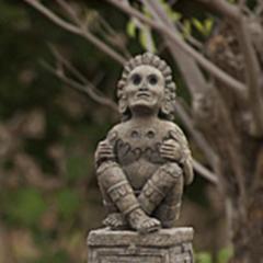 <i>Survivor: San Juan del Sur</i> Immunity Idol, Xochipilli, the Aztec god of arts and games.