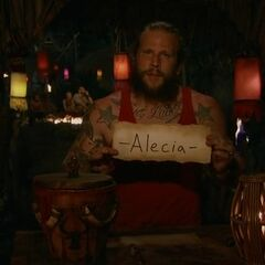 Jason votes against Alecia for the second time.