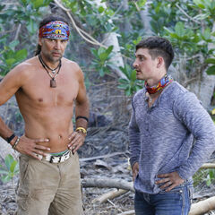 Troyzan talking with Caleb.