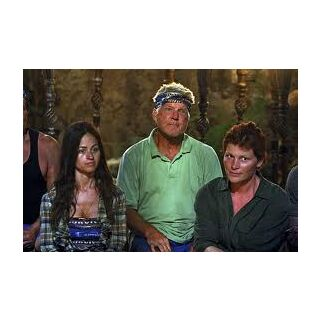 Yve at Tribal Council with <a href=
