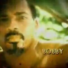 Bobby's photo in the opening.