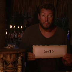 Bret votes against David for the second time.