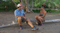 Julie-talks-to-jeff-probst